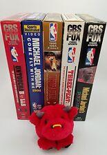Michael Jordan Chicago Bulls VHS Video Collection Set of 5 NBA