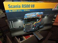 ITALERI /24th SCALE SCANIA R-500 V8 TRUCK KIT # 3829 FACTORY SEALED