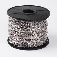 SFERA di Perline Catena Cavo in acciaio inox 1 ROTOLO 13yd gioielli fatti a mano a casa
