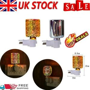 Electric Plug-In LED Aroma Diffuser Lamp Light Wax Melt Oil Burner Warmer QW