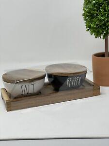 Rae Dunn Salt And Pepper Wood Set