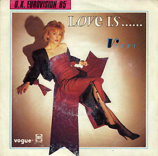VIKKI LOVE IS... / LEAD ME THROUGH THE DARKNESS FRENCH 45 SINGLE