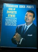 TENNESSEE ERNIE FORD'S BOOK OF FAVORITE HYMNS FROM 1962.