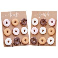 Holz-Aufsteller für Donuts / Donut-Wand f. 18 Donuts -Backzubehör & Kuchenbuffet
