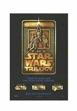 STAR WARS INGOT ~ SPECIAL EDITION ORIGINAL 27x40 MOVIE POSTER ~ REASONS Trilogy