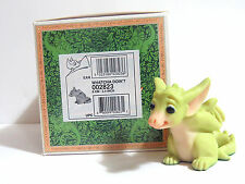 "Real Musgrave ""Whatcha Doin?"" Pocket Dragon Issued 1996 Retired 2002 Signed!"
