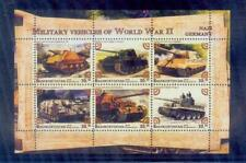 russia / 2018 military vehicles of world war 2.. /mnh.good condition