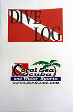 Dive Log Book Scuba Diving Flag 60 Pages Record Book