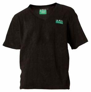 Ridgeline Men's Hunting outdoor clothing Black micro fleece s/s top size XL