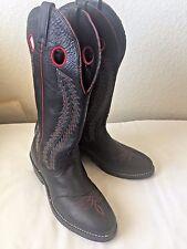 Laredo Men's Tunica Buckaroo Boots size 9 D black