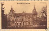 71 - cpa - LA SALLE - Façade du château