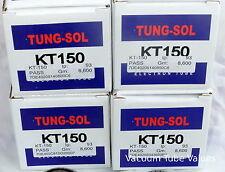 Tung-Sol Factory Platinum Matched QUAD KT150 4 NEW KT 150 Tubes 24hr Burn-In
