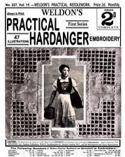 Weldon's 2D #227 c.1903  Popular Instructions in Practical Hardanger Embroidery