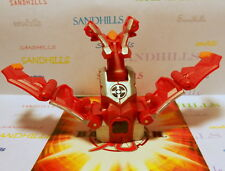 Bakugan Nukix Red Silver Battle Gear Gundalian Invaders DNA 100G & cards