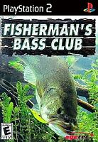 Fisherman's Bass Club (Sony PlayStation 2, 2003) - PS2