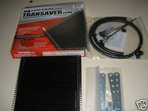 AUTOMATIC TRANSMISSION COOLER KIT EXTRA LARGE CORE HAYDEN 2 MOUNT KITS GEARBOX