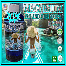 High Voltage Plasma Arc Colloidal Magnesium 16oz Pro and Pure 200ppm