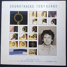 Tony Banks SOUNDTRACKS LP 1986 Quicksilver Lorca & the Outlaws Toyah Jim Diamond