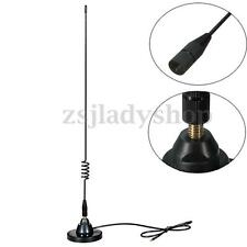 Stainless Steel Mangnetic Base With 477Mhz 4.5DB Uhf CB Radio Whip Car Antenna