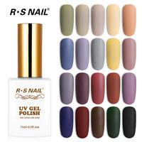 RS Nail Gel Nail Polish UV LED Varnish Soak Off Morandi 20 Colors New Arrival