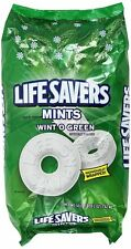 Life Savers Mints Wint O Green Party Bag Wintergreen Candy 3lb 2oz=50oz, 376ct