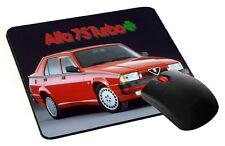 mouse pad, tappetino mouse ALFA ROMEO 75 TURBO car pc computer desktop