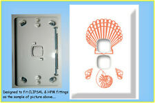 Clip-On NEO Dress-Up Cover for Light Switch (DBL) for Animal's Lover