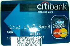 Expired in 2010 City Bank Card (A104)