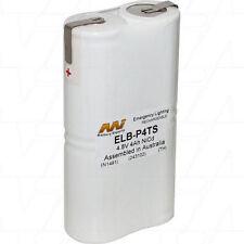 ELB-P4TS 4.8V 4Ah NiCd Emergency Lighting Battery