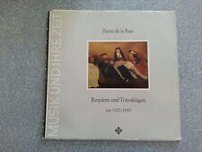 Pierra de la Rue Requiem und Totenklagen um 1500-1550 Record  LP
