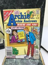 The Archie Digest Library: Archie...Archie Andrews Where Are You? No. 70