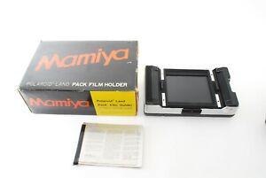 """MINT"" Mamiya Polaroid Film Back Holder for universal Press super 23,720957"