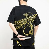 Men's Embroidered T Shirts Crew Neck Short sleeve Hip Hop Casual Tops Tees New L