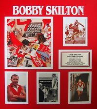 BOBBY SKILTON AFL HALL OF FAME SIGNED PHOTO FRAMED WITH CERTIFICATE