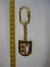 Schlüsselanhänger Polizei Schleswig-Holstein Metall wie das Armabzeichen in grün