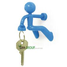 Key pate, The magnetic man Key holder, by Peleg Design light Blue color