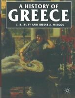 (Good)-A History of Greece (Paperback)-J.B. Bury, Russell Meiggs-0333154932