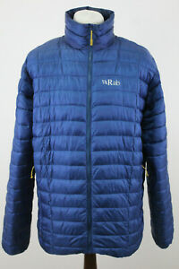 RAB Blue Quilted Altus Jacket size XL