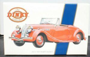 Dinky Toys Vintage Model DY-S 17 1939 TRIUMPH DOLOMITE