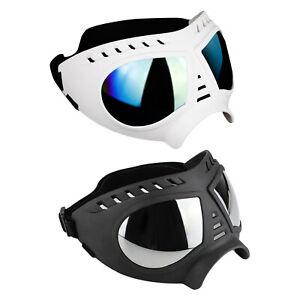 UV-resistant dog sunglasses Protective goggles Fog goggles for medium / large
