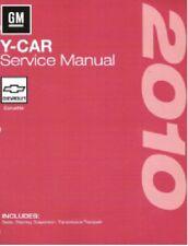 2010 Chevrolet Corvette Factory Service Repair Workshop Shop Manual - New GMP10Y