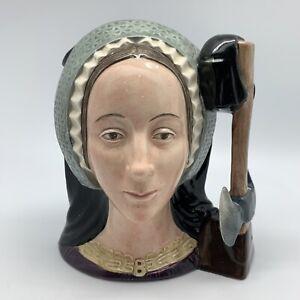 ROYAL DOULTON - Anne Boleyn D6644 Large Character Jug