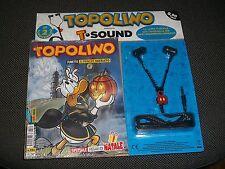 TOPOLINO LIBRETTO N.3184 - BLISTERATO + T-SOUND CUFFIE T-STYLE ROSSO - NUOVO