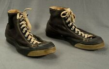 Vintage Bf Goodrich Canvas High Top Basketball Gym Sport Shoes Mens 9 1/2