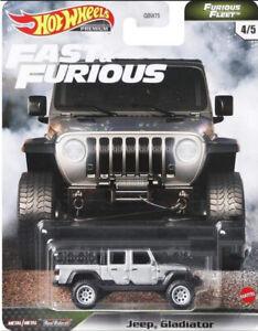 Hot Wheels Premium Fast & Furious Furious Fleet Jeep Gladiator