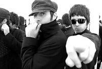 Superbo Oasis Tela #26 Qualità Noel Liam Gallagher Pop Inglese A1 A3 Tele