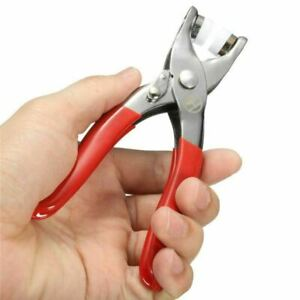 Fasterner Snap Pliers Craft Tool+110 9.5mm Sewing Buttons Silver Poppers Studs