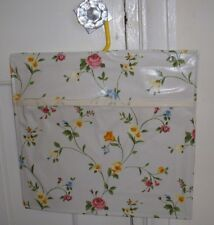 PEG BAG Oilcloth pvc floral Homemade summer flowers design Birthday Gift Y