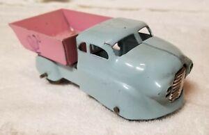 Wyandotte Easter Dump Truck, ROOSTER CROWING INK STAMP!!! Wood wheels!
