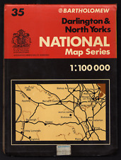 National Series..Darlington & North Yorkshire .Map No: 35..(Free Post)